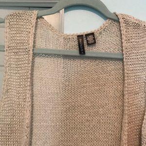Full Tilt Jackets & Coats - Crochet Fringe Vest from Full Tilt